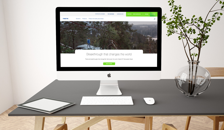 Neste web service