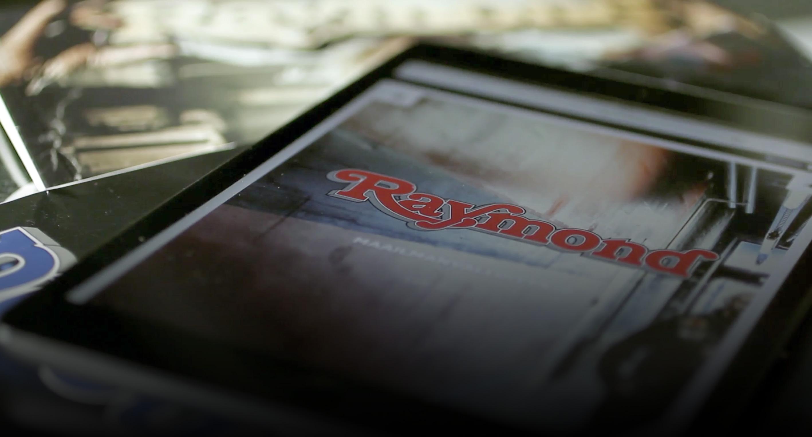 raymond.fi website